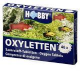HOBBY Kyslíkové tablety Oxyletten, 48 ks, na 480 l vody
