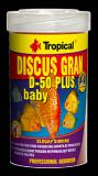 Tropical Discus Gran D-50 Plus Baby 250 ml, 138 g