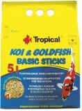 TROPICAL-POND Koi-Goldfish Basic sticks 20L