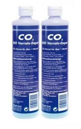 DENNERLE Zásobovací láhev BIO CO2 s kontrolním gelem, dvojité balení