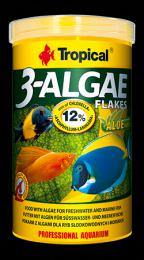 Tropical 3-Algae Flakes 250 ml, 50 g