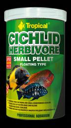 Tropical Cichlid Herbivore Small Pellet 250 ml, 90 g