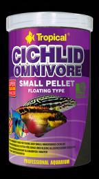 Tropical Cichlid Omnivore Small Pellet 250 ml/ 90 g - zvìtšit obrázek