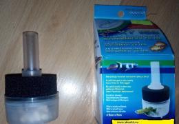 Akvarijní molitanový Biochemický filtr XY 168