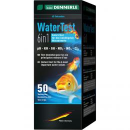 Dennerle WaterTest 6in1, 50 testù