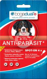 Bogadual ANTI-PARASIT SPOT-ON, pes, 25-50kg, 4x2,5ml