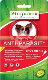 Bogacare ANTI-PARASIT SPOT-ON MINI, pes, 4x0,75ml