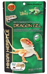 HIKARI Výživné krmivo DragonGel, 60 g