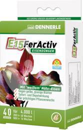 DENNERLE E15 FerActiv 40 tablet, balení na 4 000 l