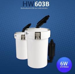 SUNSUN HW-603B vnìjší filtr pro malá akvária