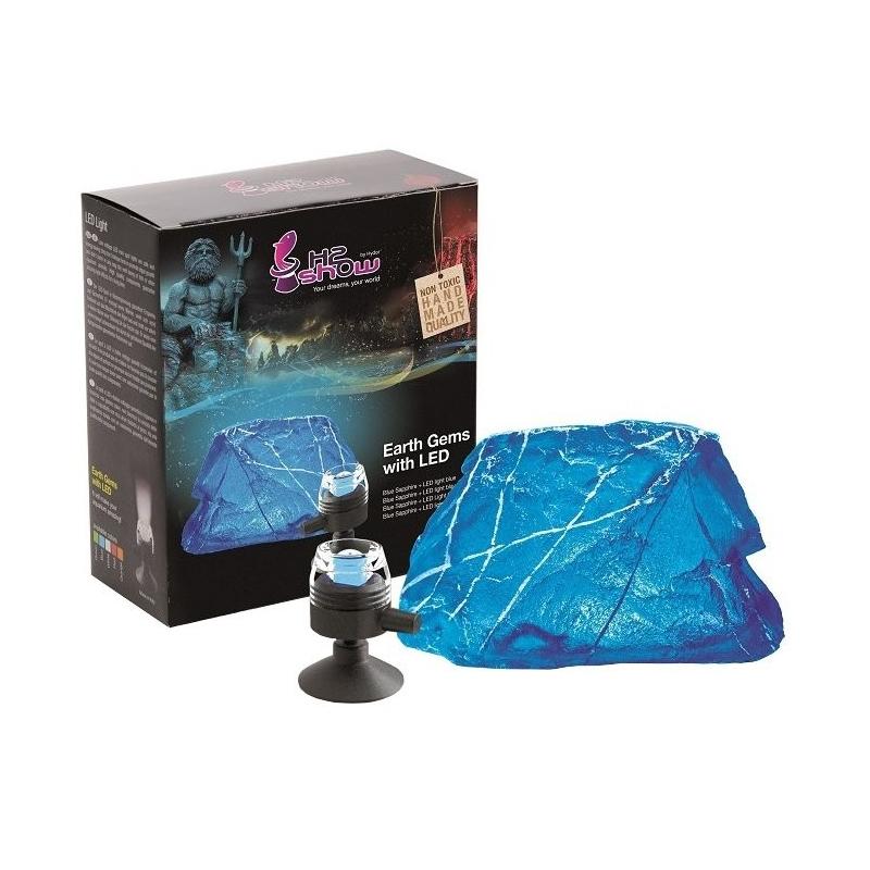 hydor dekorace h2show blue sapphire s led osv tlen m light blue hydor dekorace h2show blue. Black Bedroom Furniture Sets. Home Design Ideas