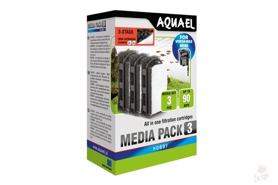 Aquael Aquael Media Set VERSAMAX Mini Carbon