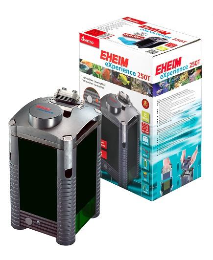 EHEIM GmbH amp; Co. KG EHEIM Vnější termofiltr eXperience 2124, 120-250 l, těleso IHS, s filtračními náplněmi Media+