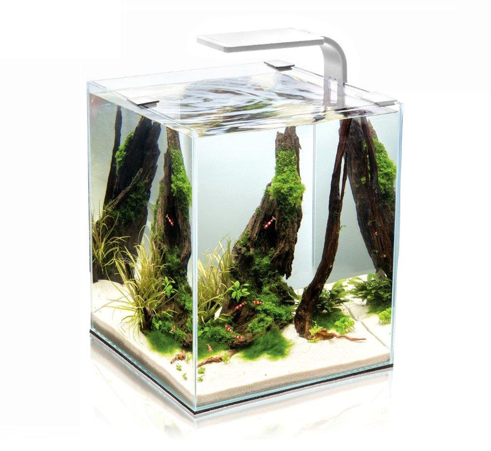 Aquael AQUAEL Shrimp Smart akvarijní set, bílá, 30 l