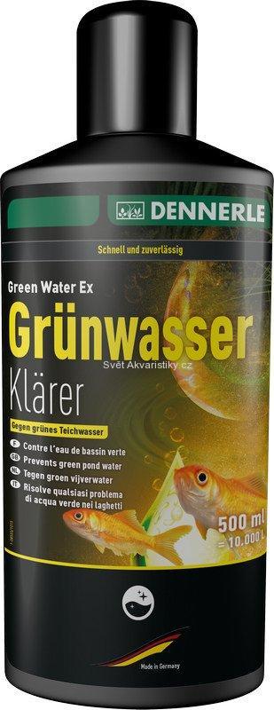 Dennerle Grünwasser-klärer 500 ml na 10 000 l vody