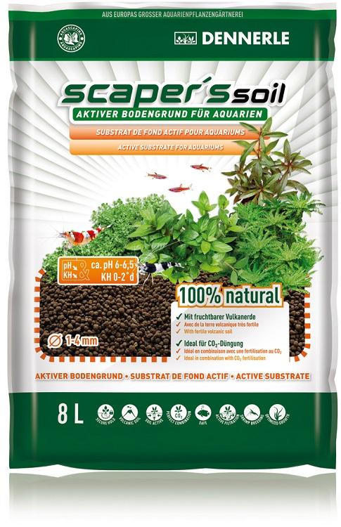 Dennerle Substrát Scaper's Soil 8 l