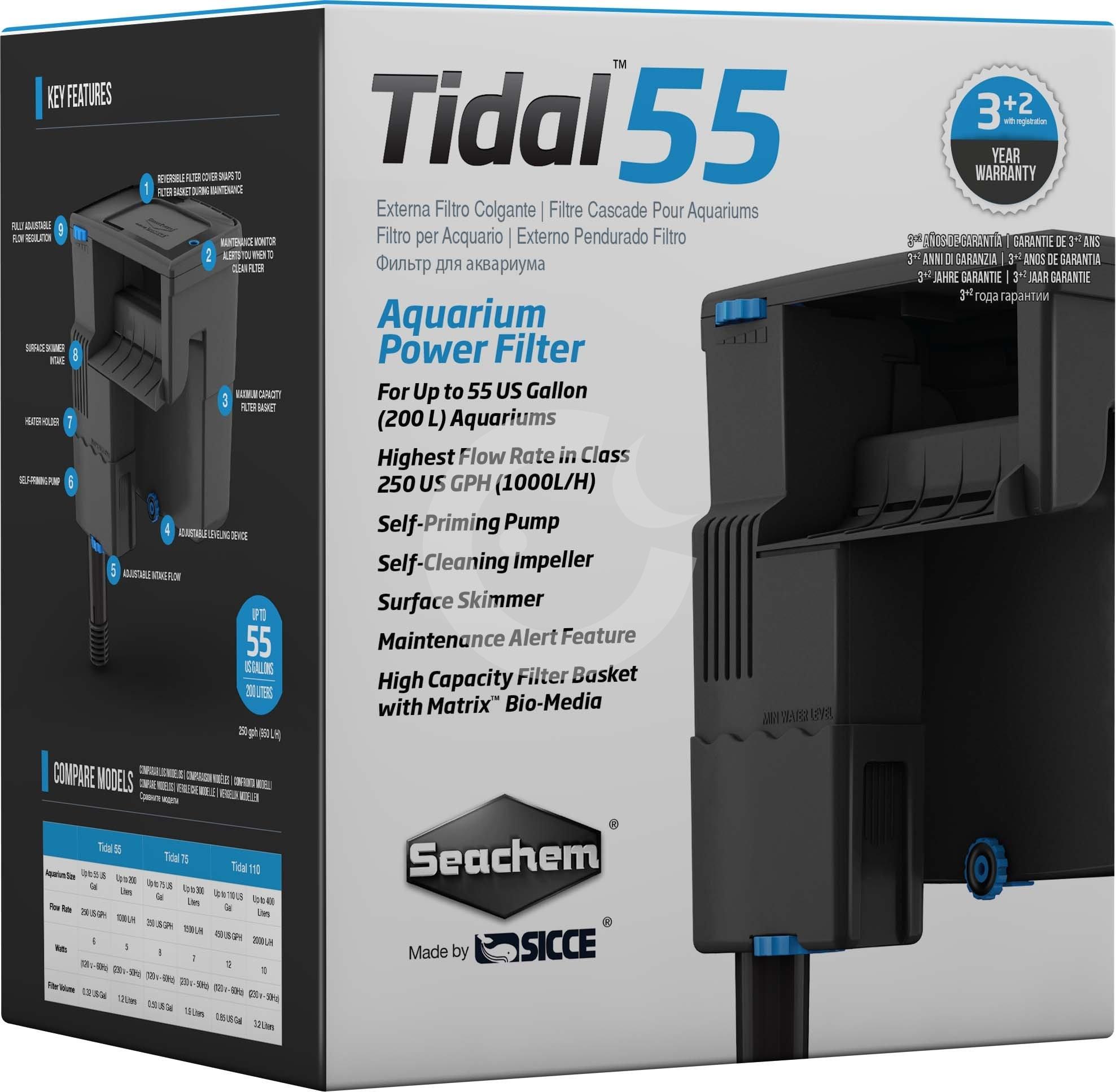 Seachem SEACHEM Vnější filtr TIDAL 55, 1000 l/hod