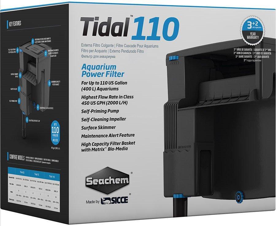 Seachem SEACHEM Vnější filtr TIDAL 110, 2000 l/hod
