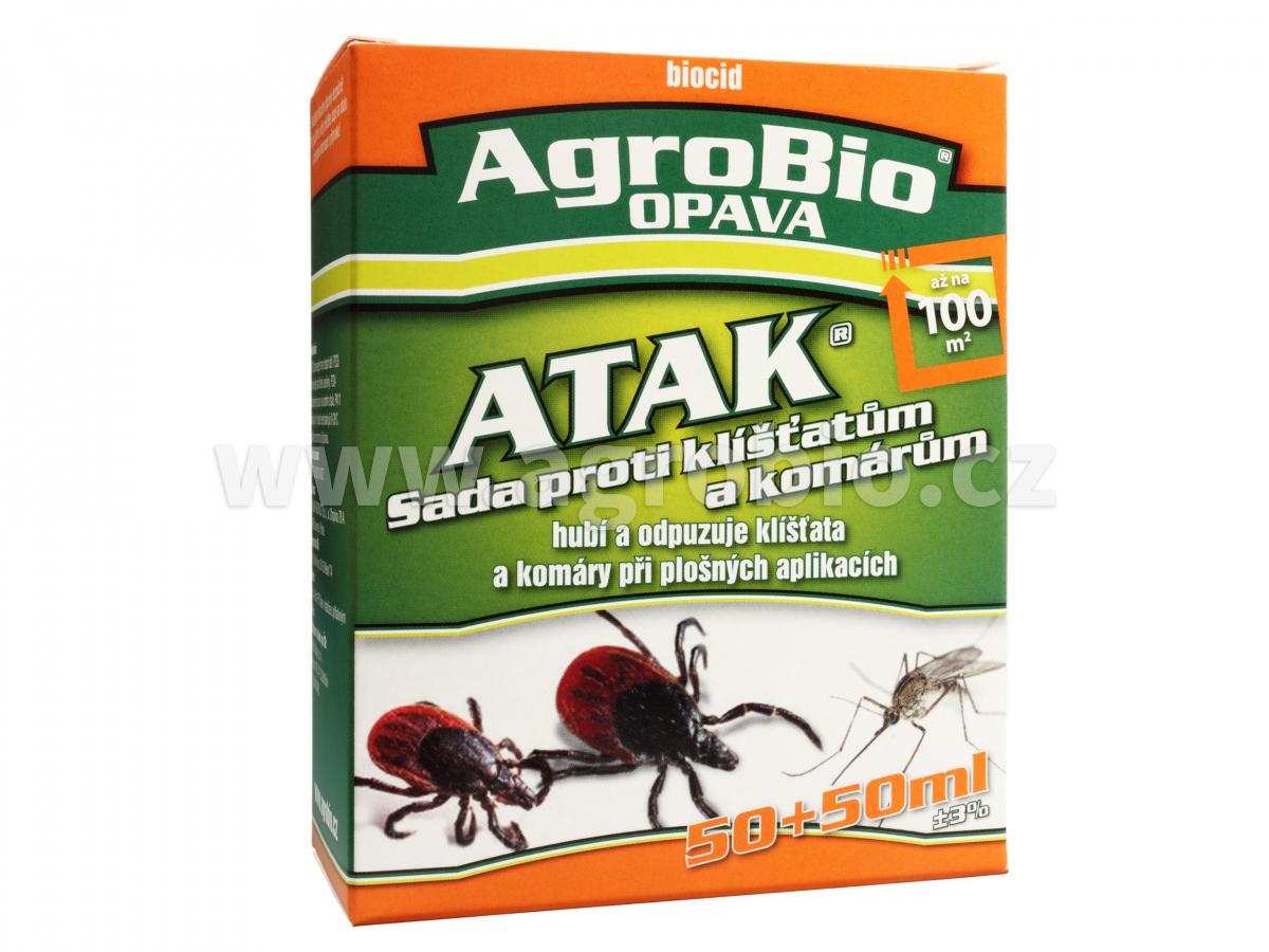ATAK - Sada proti klíš�atùm a komárùm 100+100ml